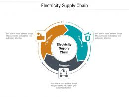 Electricity Supply Chain Ppt Powerpoint Presentation Icon Inspiration Cpb