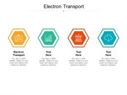 electron transport ppt powerpoint presentation slides picture cpb
