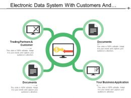 Electronic Data System With Customers And Documents