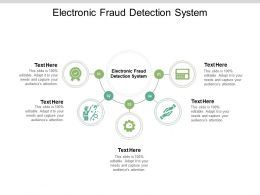 Electronic Fraud Detection System Ppt Powerpoint Presentation Outline Show Cpb