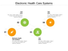 Electronic Health Care Systems Ppt Powerpoint Presentation Styles Show Cpb