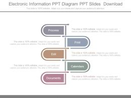 Electronic Information Ppt Diagram Ppt Slides Download