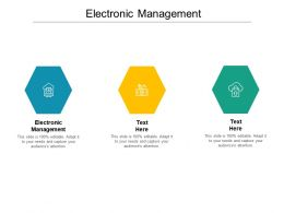 Electronic Management Ppt Powerpoint Presentation Icon Background Cpb