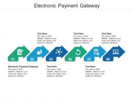 Electronic Payment Gateway Ppt Powerpoint Presentation Infographic Template Design Ideas Cpb