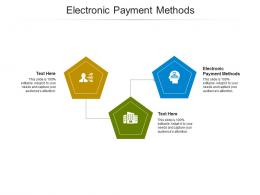Electronic Payment Methods Ppt Powerpoint Presentation Templates Cpb