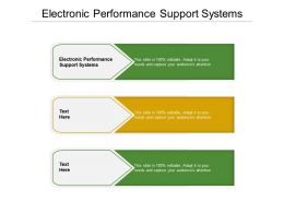 Electronic Performance Support Systems Ppt Powerpoint Presentation Show Example Cpb