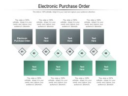 Electronic Purchase Order Ppt Powerpoint Presentation Icon Outline Cpb
