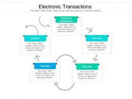 Electronic Transactions Ppt Powerpoint Presentation Layouts Example Cpb