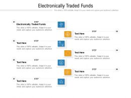 Electronically Traded Funds Ppt Powerpoint Presentation Outline Information Cpb