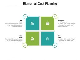 Elemental Cost Planning Ppt Powerpoint Presentation Infographics Guide Cpb