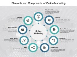 Elements And Components Of Online Marketing