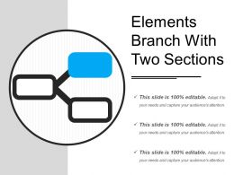 Elements Branch With Two Sections