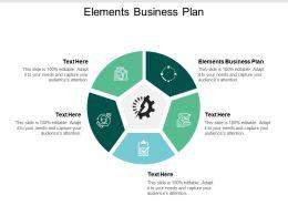 Elements Business Plan Ppt Powerpoint Presentation Visual Aids Portfolio Cpb
