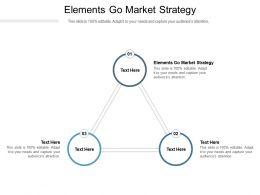 Elements Go Market Strategy Ppt Powerpoint Presentation Portfolio Design Ideas Cpb