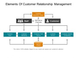 elements_of_customer_relationship_management_powerpoint_topics_Slide01