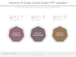 Elements Of Quality Control System Ppt Inspiration