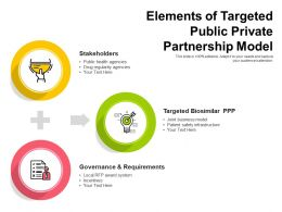 Elements Of Targeted Public Private Partnership Model