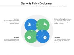 Elements Policy Deployment Ppt Powerpoint Presentation Show Images Cpb