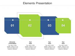 Elements Presentation Ppt Powerpoint Presentation Icon Demonstration Cpb