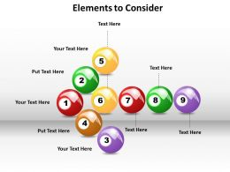 elements to consider  powerpoint slides templates infographics images 1121