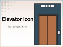 Elevator Icon Businessman Luggage Depicting Person Convenience Wheelchair