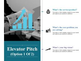Elevator Pitch Powerpoint Slide Designs