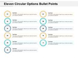 eleven_circular_options_bullet_points_Slide01