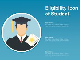Eligibility Icon Of Student