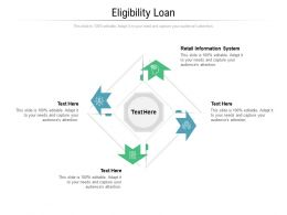 Eligibility Loan Ppt Powerpoint Presentation Inspiration Template Cpb