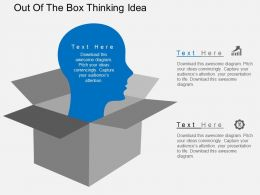 Em Out Of The Box Thinking Idea Flat Powerpoint Design