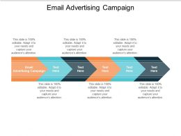 Email Advertising Campaign Ppt Powerpoint Presentation Summary Graphics Cpb