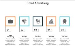 Email Advertising Ppt Powerpoint Presentation Icon Deck Cpb