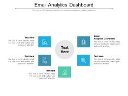 Email Analytics Dashboard Ppt Powerpoint Presentation Portfolio Graphic Images Cpb