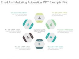 Email And Marketing Automation Ppt Example File