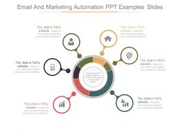 Email And Marketing Automation Ppt Examples Slides