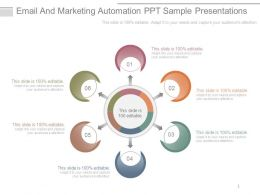 Email And Marketing Automation Ppt Sample Presentations