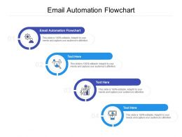 Email Automation Flowchart Ppt Powerpoint Presentation Gallery Outfit Cpb