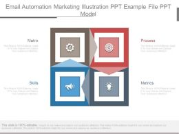 Email Automation Marketing Illustration Ppt Example File Ppt Model