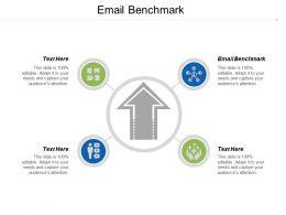Email Benchmark Ppt Powerpoint Presentation Summary Portfolio Cpb