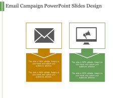 Email Campaign Powerpoint Slides Design