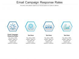Email Campaign Response Rates Ppt Powerpoint Presentation Inspiration Gallery Cpb