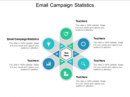 Email Campaign Statistics Ppt Powerpoint Presentation Icon Show Cpb