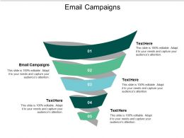 Email Campaigns Ppt Powerpoint Presentation Slides Master Slide Cpb