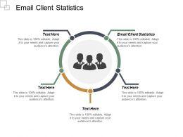 Email Client Statistics Ppt Powerpoint Presentation Portfolio Deck Cpb