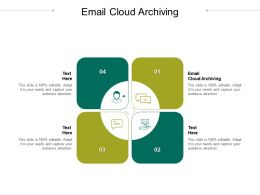 Email Cloud Archiving Ppt Powerpoint Presentation Pictures Design Inspiration Cpb