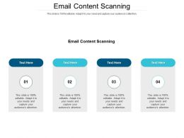 Email Content Scanning Ppt Powerpoint Presentation Pictures Gallery Cpb