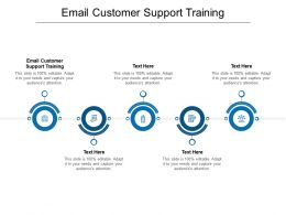 Email Customer Support Training Ppt Powerpoint Presentation Show Summary Cpb