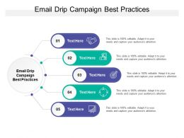 Email Drip Campaign Best Practices Ppt Powerpoint Presentation File Deck Cpb