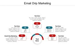 Email Drip Marketing Ppt Powerpoint Presentation Ideas Cpb
