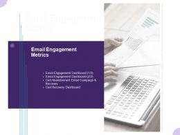 Email Engagement Metrics Ppt Powerpoint Presentation File Inspiration